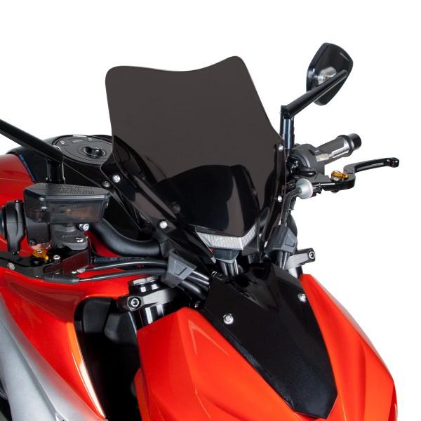 """PRZEDNIA OWIEWKA AEROSPORT KAWASAKI Z1000 2014"""";Owiewka wykonana z plexiglassu w ciemnym kolorze. Element ten zamontujesz bez przeróbek oryginalnych części motocykla. W komplecie wszystko potrzebne do zamocowania owiewki do motocykla."""""""
