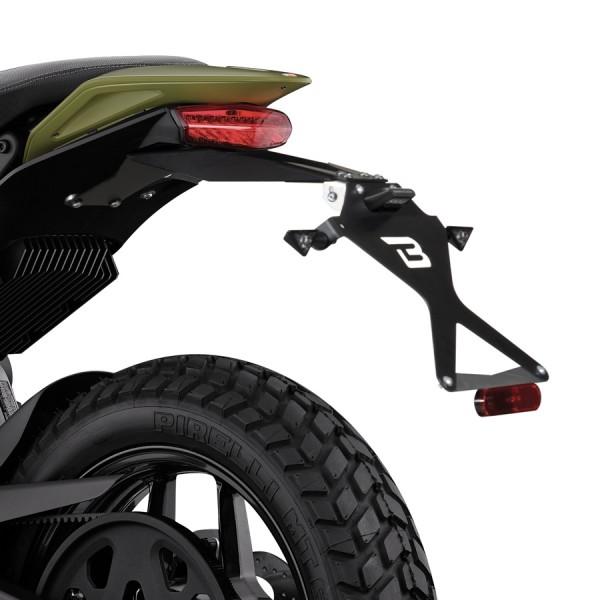 MOCOWANIE TABLICY Z REGULACJĄ ZERO MOTORCYCLES ZERO DS